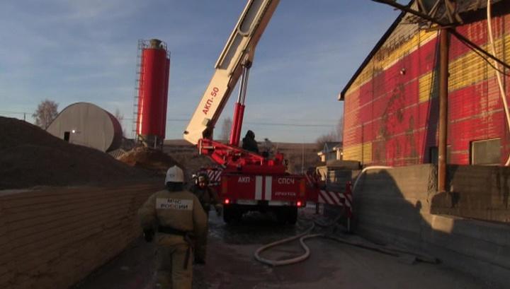 Крупный пожар в пригороде Иркутска ликвидирован