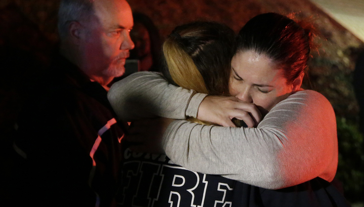 Очевидцы стрельбы в Калифорнии также пережили бойню в Лас-Вегасе