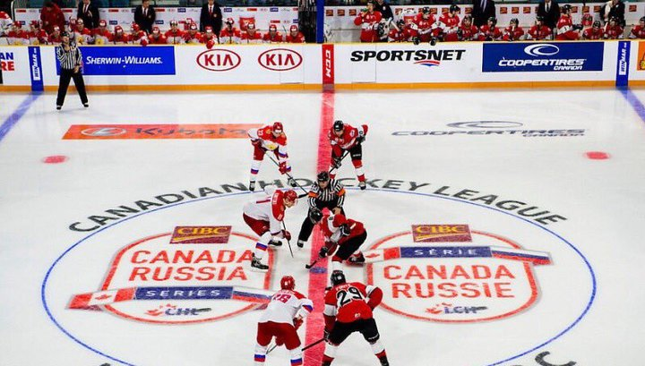 Молодые российские хоккеисты выиграли суперсерию