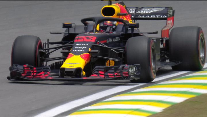 Формула-1. Ферстаппен выиграл первую тренировку в Бразилии