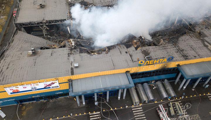 """Пожар в """"Ленте"""": все системы пожарной безопасности сработали штатно"""