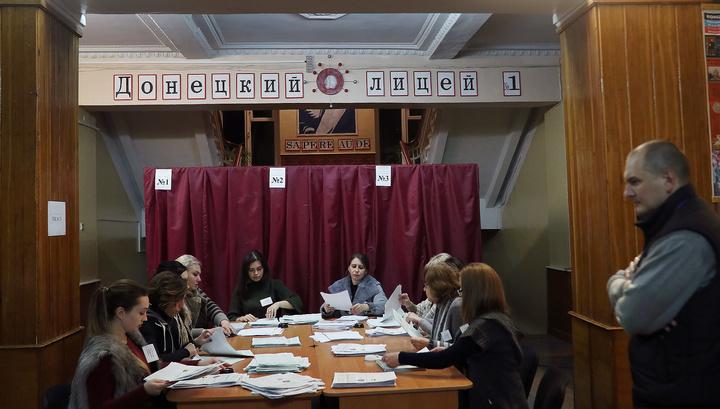 На выборах в ЛНР лидирует Пасечник, в ДНР - Пушилин