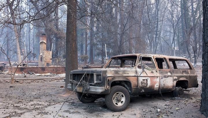 Пожары в Калифорнии признаны самыми смертельными за последние 85 лет
