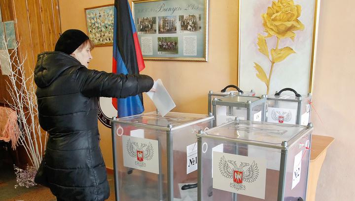 Выборы в ДНР и ЛНР: первые предварительные результаты