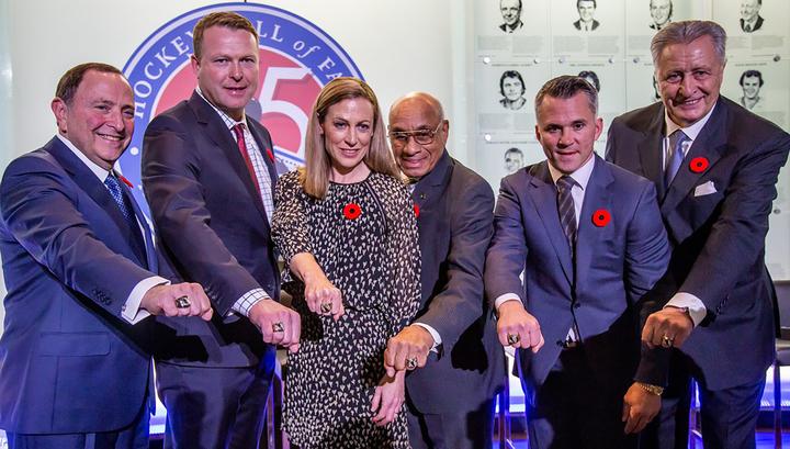 Якушев стал членом Зала хоккейной славы в Торонто