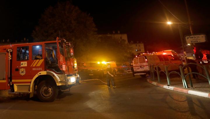 В результате обстрелов Израиля из Газы один человек погиб, двое получили ранения