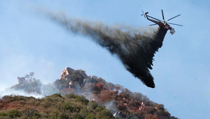 Штат Калифорния, пострадавший от пожаров, объявлен зоной стихийного бедствия