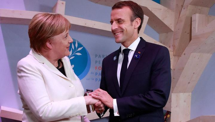 Европе нужна своя армия: Меркель поддержала Макрона, несмотря на критику Трампа