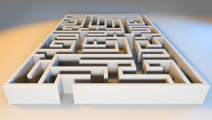 Система, созданная учёными, состоит из огромного количества одномолекулярных ДНК-навигаторов, которые исследуют все возможные пути прохода через лабиринт.