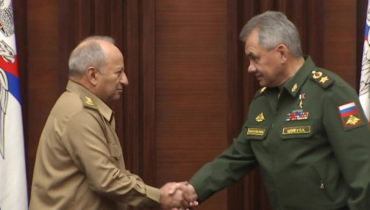 Шойгу: Россия и Куба будут сотрудничать по линии оборонных ведомств