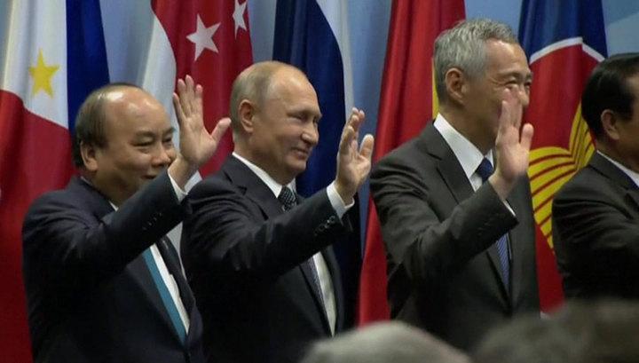 Визит Путина в Сингапур завершится Восточноазиатским саммитом