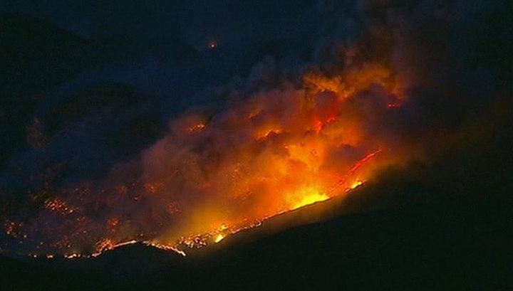 Число жертв лесных пожаров в Калифорнии увеличилось до 58
