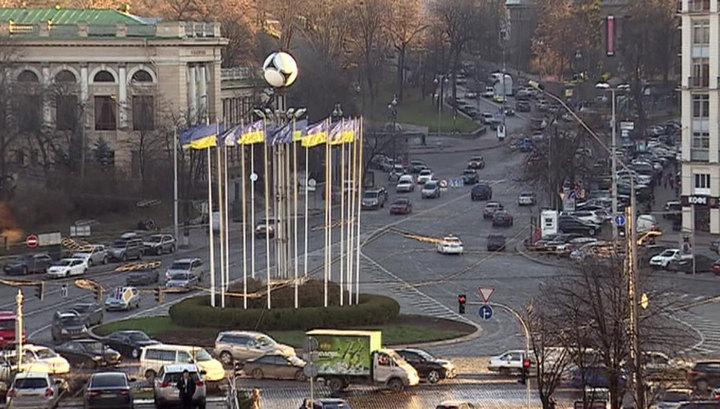 В центре Киева избили представительницу ОБСЕ