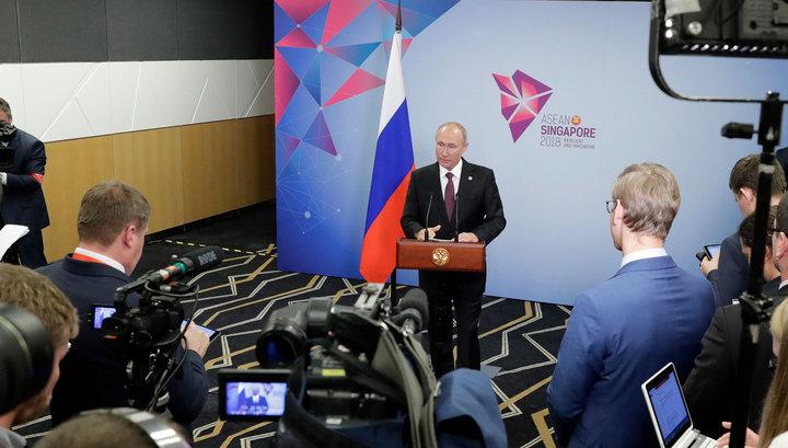 Путин: выборы в Донбассе были неизбежны