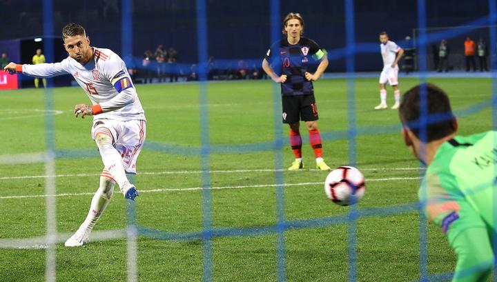Лига наций. Хорваты взяли реванш у сборной Испании