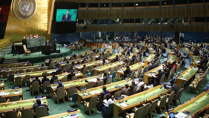 В ООН приняли украинский вариант резолюции о нарушениях прав человека в Крыму