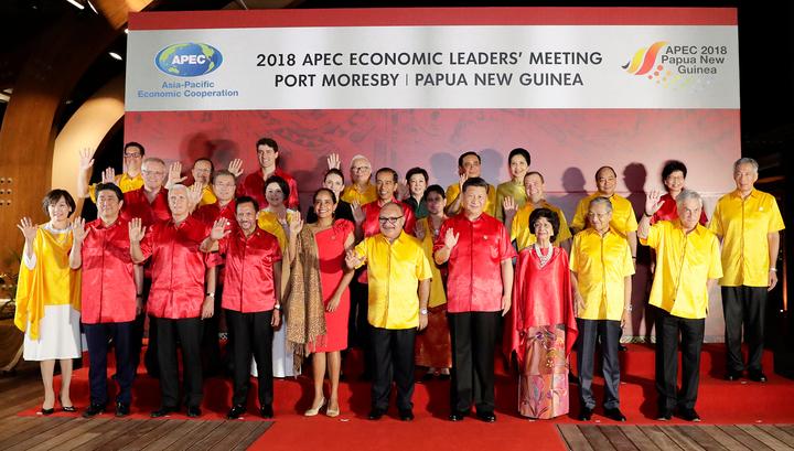 В Папуа-Новой Гвинее начался второй день саммита АТЭС