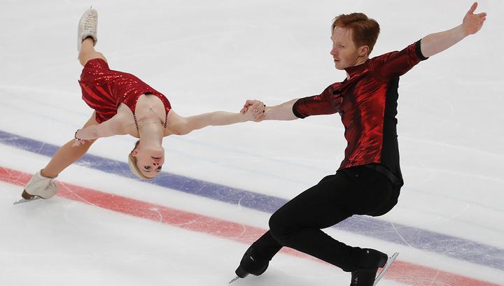 Российские фигуристы Тарасова и Морозов выиграли короткую программу с мировым рекордом