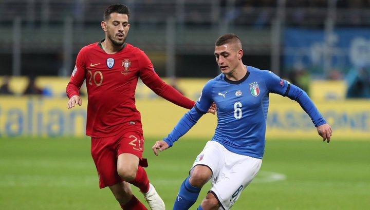 Португальцы сыграли вничью с Италией и вышли в финальную стадию Лиги наций