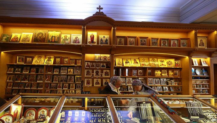 В Москве ограбили церковную лавку