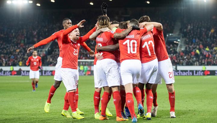 Швейцария разгромила Бельгию и пробилась в плей-офф Лиги наций