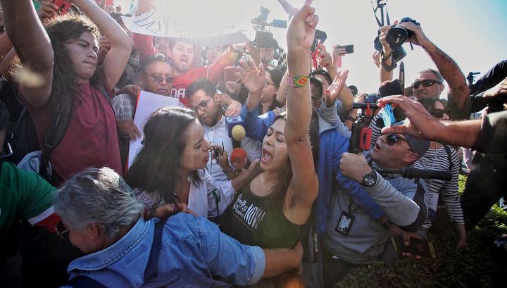 Жители пограничного мексиканского города взбунтовались против мигрантов