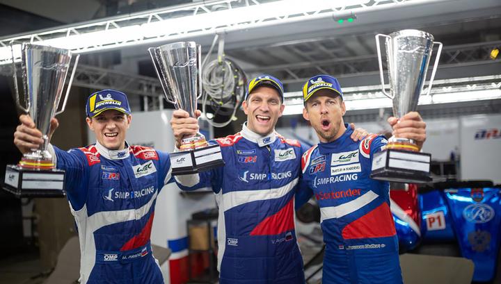 Российская команда SMP Racing завоевала бронзу чемпионата мира