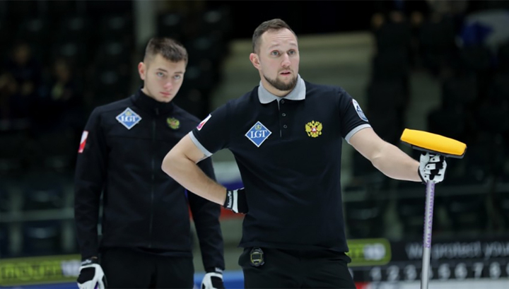 Российские керлингисты потерпели пятое поражение на чемпионате Европы