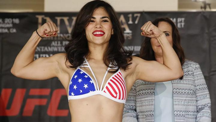 Американской спортсменке ММА сломали глазницу в Гонолулу