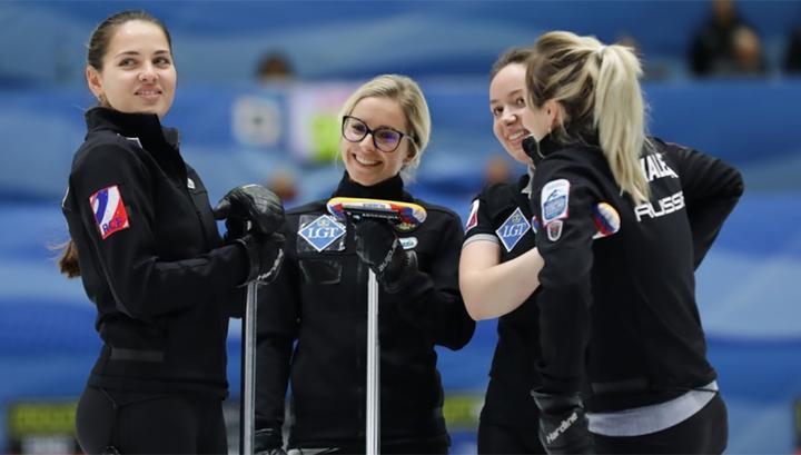 Российские керлингистки заняли четвертое место на чемпионате Европы