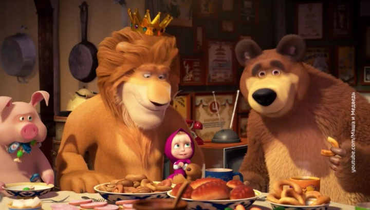 """""""Я такая боевая"""": """"Маша и Медведь"""" опасны для английских умов"""
