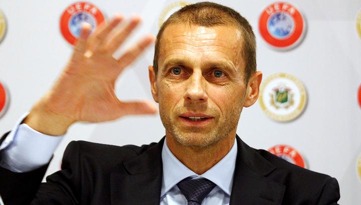 Глава УЕФА Чеферин: футбольная Суперлига – это вымысел или мечта