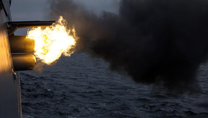 Российские боевые корабли устроили дуэль на торпедах