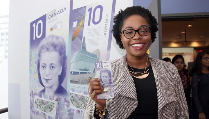 В Канаде выпустят вертикальные банкноты