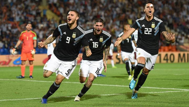 Футболисты сборной Аргентины вновь обыграли мексиканцев в товарищеском матче