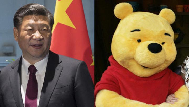 В Китае Винни-Пух оказался под запретом из-за схожести с главой государства