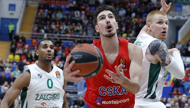 Баскетболисты ЦСКА переиграли