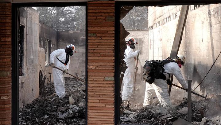 Пожар в США: власти боялись предупреждать людей из-за страха паники и пробок