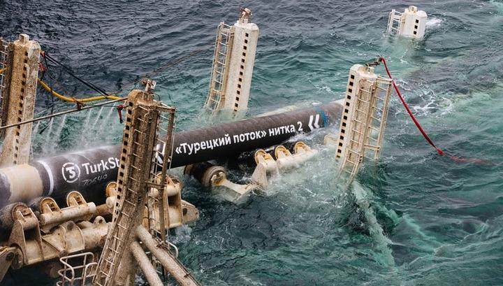"""Соединены морская и наземная части """"Турецкого потока"""""""