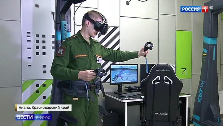 Элита российской армии. Путин посетил технополис ЭРА