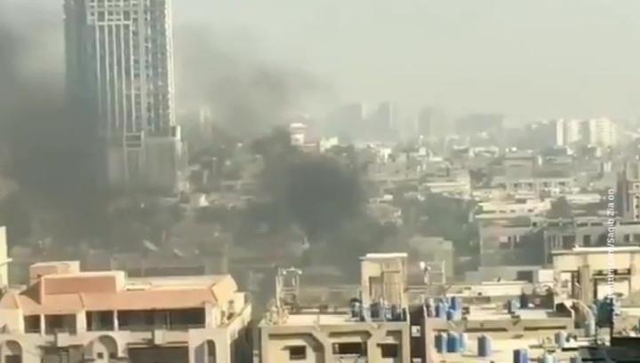 Нападение на консульство Китая в Карачи: три смертника и два полицейских погибли