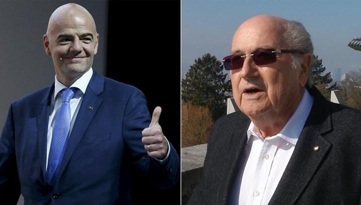 Битва гигантов ФИФА: Блаттер обвинил Инфантино в неэтичном поведении