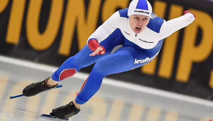 Конькобежка Качанова завоевала бронзу этапа Кубка мира