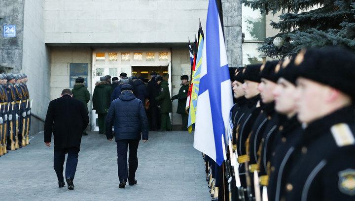 Коробова похоронили на Троекуровском кладбище с воинскими почестями