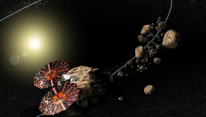 """""""Люси"""" посетит семь астероидов и тем самым установит рекорд для космических исследований."""