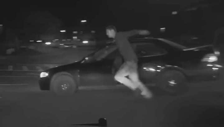 Воришку переехала собственная машина во время полицейской погони