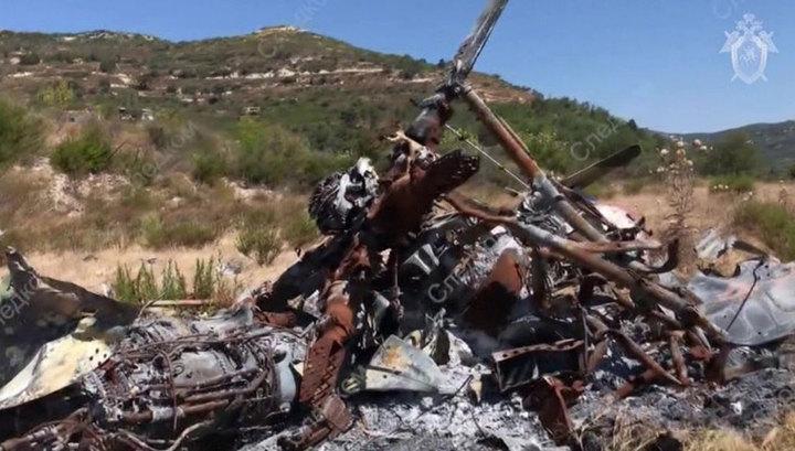 Следком опубликовал кадры с места гибели пилота Пешкова и морпеха Позынича в Сирии