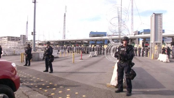 Караван мигрантов на границе с США: ситуация накаляется