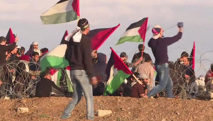 Столкновения на границе сектора Газа: более 100 человек пострадали