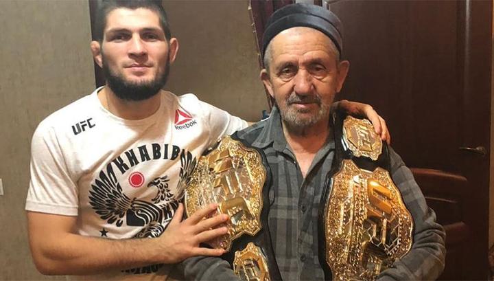 У чемпиона UFC Нурмагомедова умер дедушка